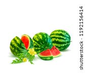 fresh  nutritious and tasty... | Shutterstock .eps vector #1192156414