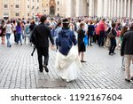vatican city  italy  may 9 ...   Shutterstock . vector #1192167604