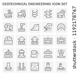geotechnical engineering and...   Shutterstock .eps vector #1192178767