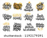 drawn illustrations for... | Shutterstock .eps vector #1192179391