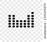 periodic table vector icon... | Shutterstock .eps vector #1192193374