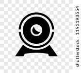 web camera vector icon isolated ... | Shutterstock .eps vector #1192193554