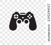 game controller vector icon... | Shutterstock .eps vector #1192194517
