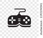 game controller vector icon... | Shutterstock .eps vector #1192194541