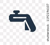 controller vector icon isolated ... | Shutterstock .eps vector #1192196107