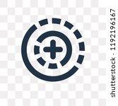 360 degrees vector icon... | Shutterstock .eps vector #1192196167