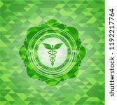 caduceus medical icon inside... | Shutterstock .eps vector #1192217764