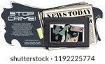 stock illustration. people in... | Shutterstock .eps vector #1192225774