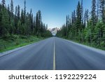 road trip to the mountains ... | Shutterstock . vector #1192229224