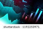 stock market or forex trading... | Shutterstock . vector #1192253971
