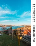 01 january 2018  istanbul... | Shutterstock . vector #1192261711