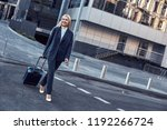 on the way to business meeting. ... | Shutterstock . vector #1192266724