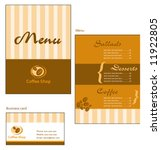 template designs of menu and... | Shutterstock .eps vector #11922805
