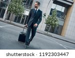 young businessman with a... | Shutterstock . vector #1192303447