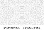 flower geometric pattern.... | Shutterstock .eps vector #1192305451
