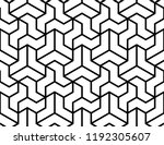 the geometric pattern with...   Shutterstock .eps vector #1192305607