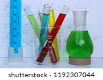 water solutions of organic dyes ... | Shutterstock . vector #1192307044