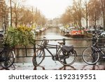 bike on day light during the... | Shutterstock . vector #1192319551
