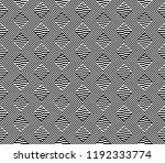 seamless pattern with striped... | Shutterstock .eps vector #1192333774
