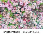 Stock photo abstract background of colorful flower 1192346611