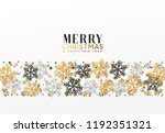 merry christmas and happy new... | Shutterstock .eps vector #1192351321
