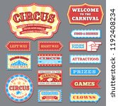 Vintage Circus Labels And...