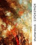 modern art. colorful... | Shutterstock . vector #1192419424
