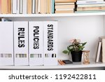 standards  policies and rules....   Shutterstock . vector #1192422811
