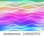 light multicolor  rainbow... | Shutterstock .eps vector #1192427971