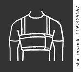 surgical men s rib belt chalk... | Shutterstock .eps vector #1192429567