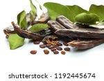Carob Bean. Healthy Organic...