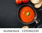 tasty appetizing creamy tomato... | Shutterstock . vector #1192462234
