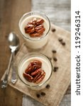coffee yogurt panna cotta | Shutterstock . vector #119246314