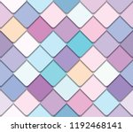 trendy fresco mosaic seamless... | Shutterstock .eps vector #1192468141