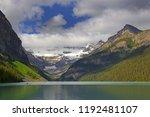 lake louise in banff national...   Shutterstock . vector #1192481107