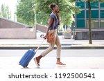 full body side portrait of... | Shutterstock . vector #1192500541