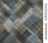 seamless pattern urban design.... | Shutterstock . vector #1192522411
