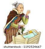 cartoon fairy tale character  ...   Shutterstock . vector #1192524667