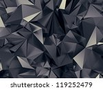 abstract futuristic crystal... | Shutterstock . vector #119252479