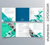 brochure design  brochure... | Shutterstock .eps vector #1192526104