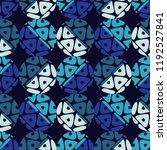 polka dot seamless pattern....   Shutterstock .eps vector #1192527841
