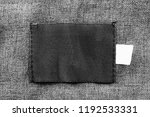 blank black textile patch on...   Shutterstock . vector #1192533331