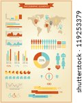 info graphic elements world map ... | Shutterstock .eps vector #119253379
