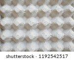 cardboard made for egg...   Shutterstock . vector #1192542517