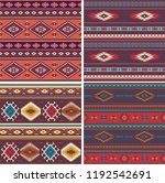 native american vintage vector... | Shutterstock .eps vector #1192542691