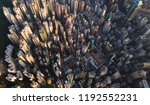 aerial view of hong kong... | Shutterstock . vector #1192552231