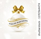 feliz navidad   christmas... | Shutterstock .eps vector #1192564474
