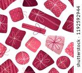 vector seamless pattern of... | Shutterstock .eps vector #1192592944
