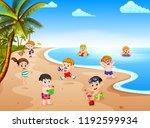 vector illustration of the... | Shutterstock .eps vector #1192599934