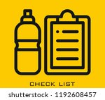 check list icon signs